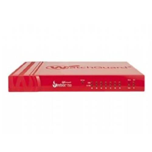 WatchGuard Firebox T50 - Security appliance - with 1 year Security Suite - 7 ports - 10Mb LAN, 100Mb LAN, GigE - WatchGuard Trade Up Program