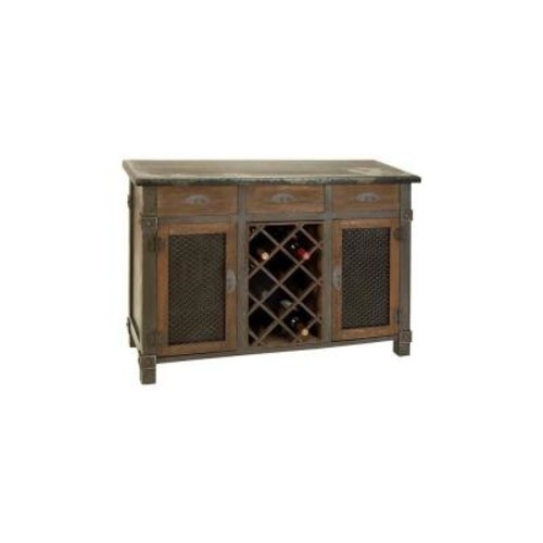 Home Decorators Collection Brown Bar Cabinet