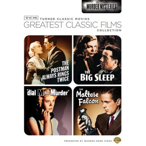 TCM Greatest Classic Films Collection: Murder Mysteries [2 Discs]