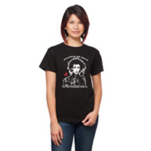 Edward Scissorhands Everything has Beauty Ladies T Shirt Black M