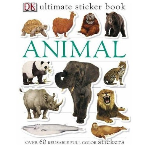 Ultimate Sticker Book: Animal (Ultimate Sticker Books)