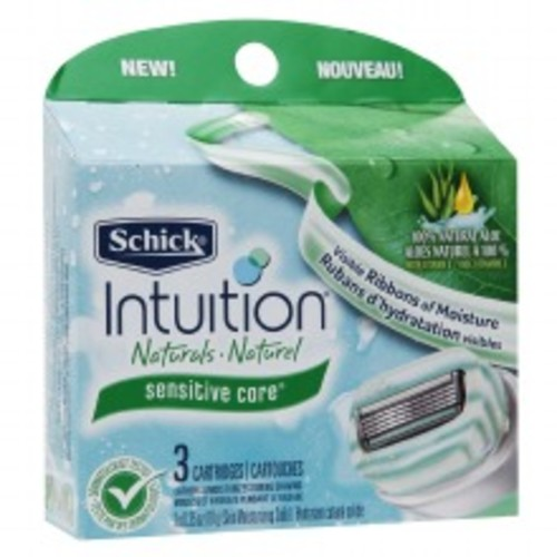 Schick Intuition Pure Nourishment with Coconut Milk & Almond Oil Razor Refills