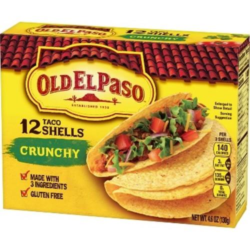 El Paso Crunchy Taco Shells Gluten Free 4.6 oz