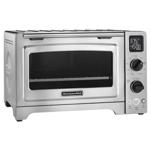 KitchenAid - KCO273SS Countertop Convection Toaster/Pizza Oven - Stainless Steel