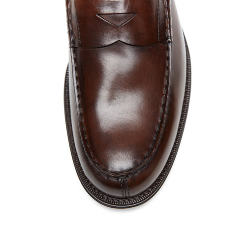 Burnished Penny Loafers by Tod's