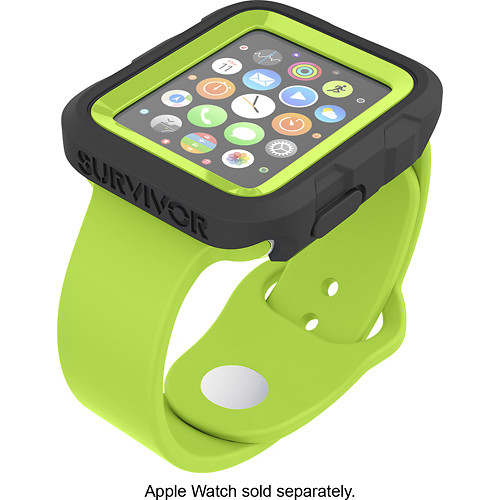 Griffin Technology - Survivor Tactical Cover for Apple Watch 42mm - Green