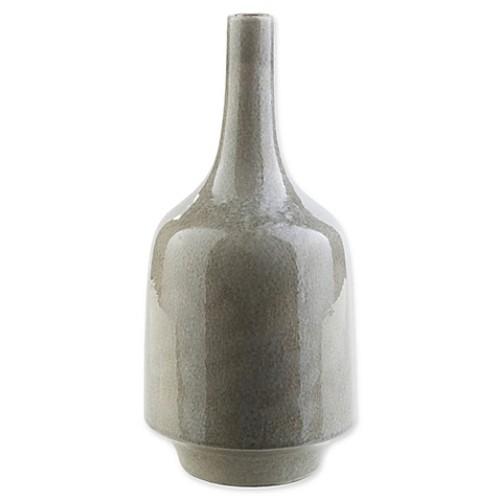 Surya Modern Large Decorative Table Vase in Grey