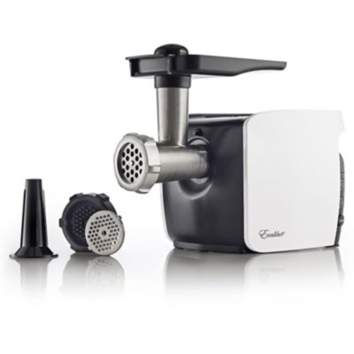 Excalibur Electric Meat Grinder Cube in White/Black