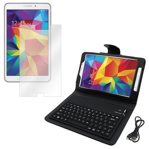 MGear 97091556M Galaxy Tab 4 Screen Protector & BT Folio