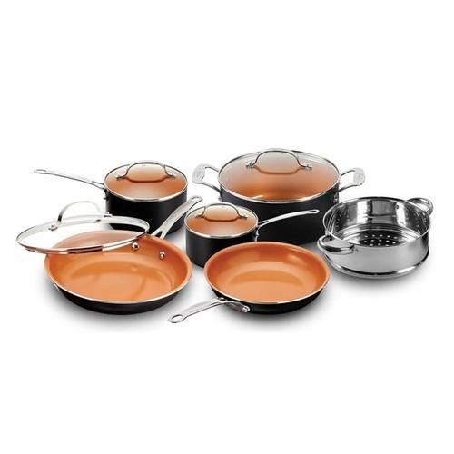 Gotham Steel Non-stick Ti Cerama 10 Piece Cookware Set