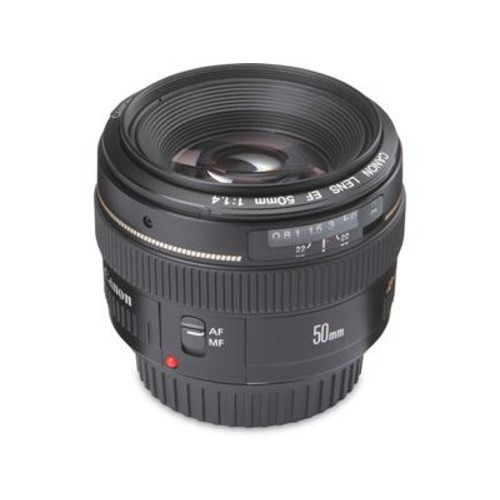 Canon EF 50mm f/1.4 USM Standard prime lens for Canon EOS SLR cameras