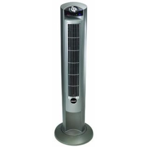Lasko Products 2551s Lasko 2551 Wind Curve Platinum Tower Fan With Remote Control and Fresh Air Ionizer