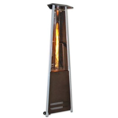 SUNHEAT Triangle Flame Propane Patio Heater