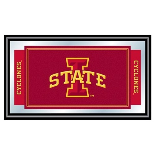 Iowa State Cyclones Team Logo Wall Mirror