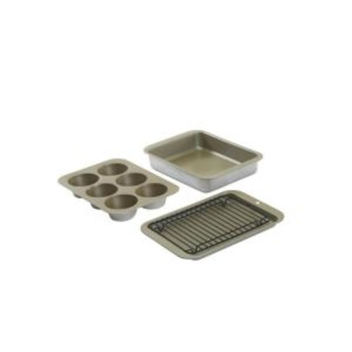 Nordic Ware 5-Piece Silver Bakeware Set