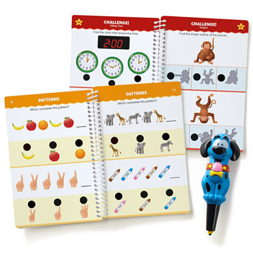 Educational Insights Hot Dots Jr. Let's Master Kindergarten Set with Ace Pen