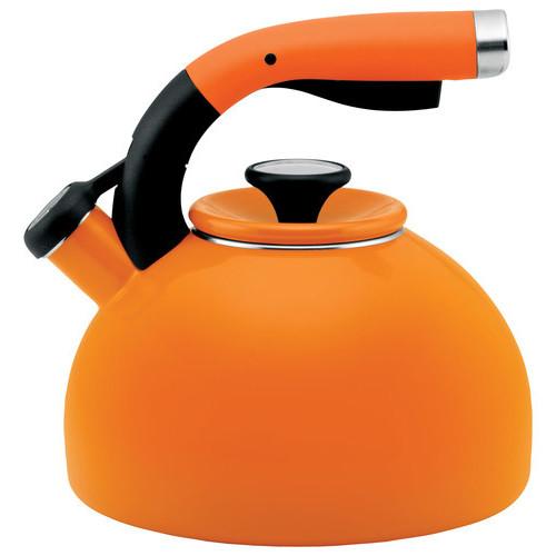 Circulon - Morning Bird 2-Quart Tea Kettle - Mandarin Orange