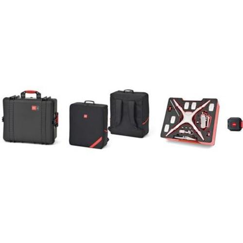 HPRC 2710 Resin Case and PHA4 Soft Bag Combo for DJI Phantom 4 Quadcopter HPRC2710PHA4COMBO