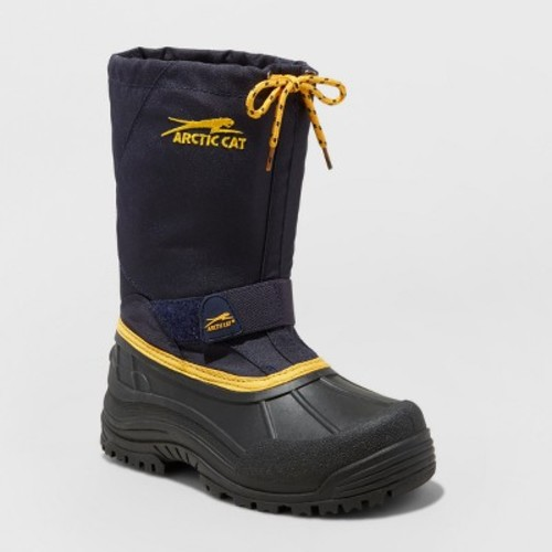 Boys' Arctic Cat Snowshower Winter Boots - Navy