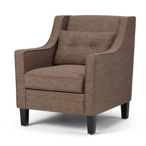 Simpli Home - Ashland Club Chair - Fawn Brown