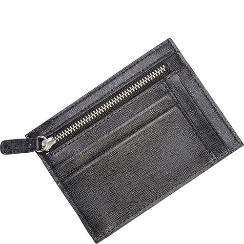 Royce Leather RFID Blocking Slim Card Case Wallet