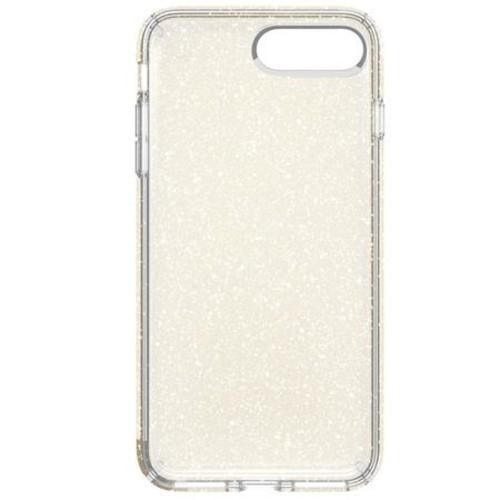 Speck Presidio Case for iPhone 7 Plus, Clear/Gold Glitter 79983-5636