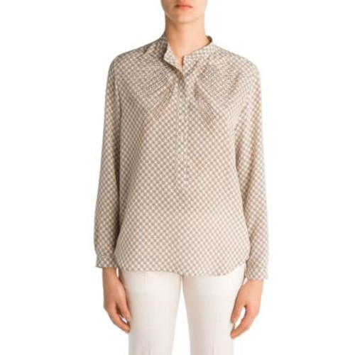 STELLA MCCARTNEY Eva Embellished Silk Shirt