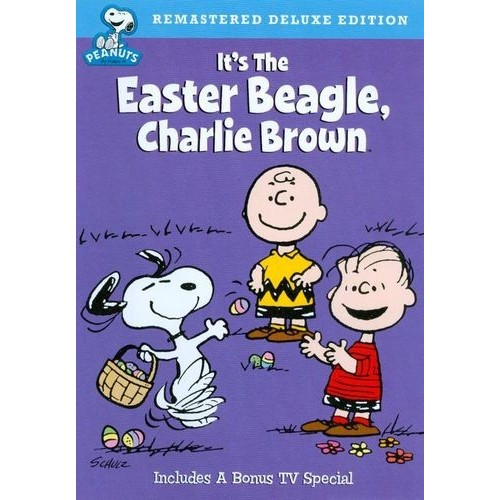 Peanuts: It's the Easter Beagle Charlie Brown DVD