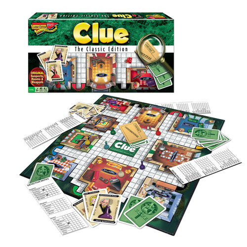 Winning Moves Games Clue Classic Edition