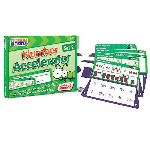 Junior Learning Smart Tray Number 2 Accelerator Set