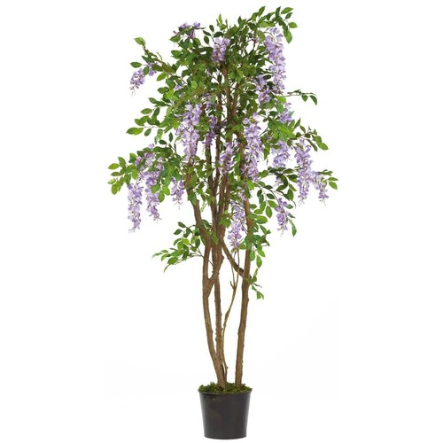 Nearly Natural 5' Wisteria Silk Tree