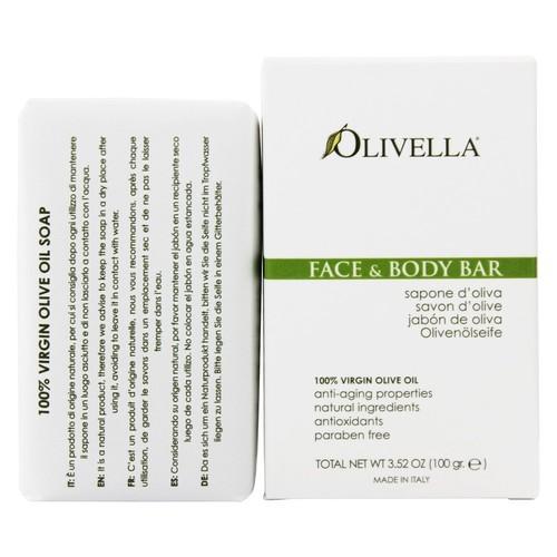 Olivella - Virgin Olive Oil Face & Body Bar Soap Scented - 3.52 oz.