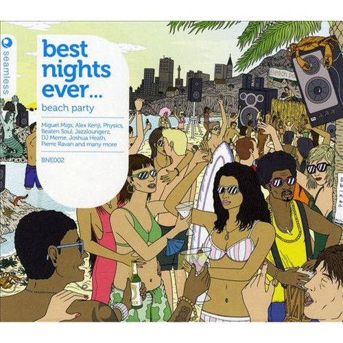 Best Nights Ever: Beach Party [CD]