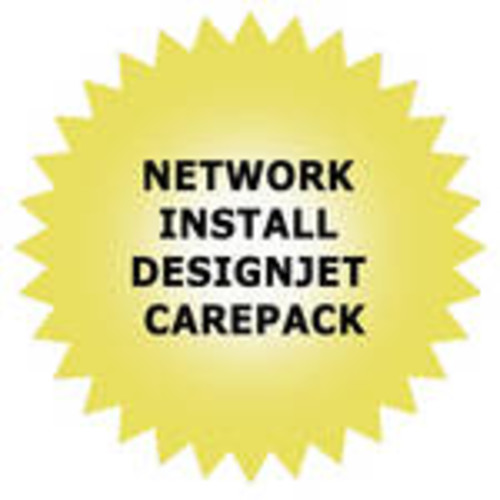 Network Installation Service for DesignJet High-End and Midrange Printers