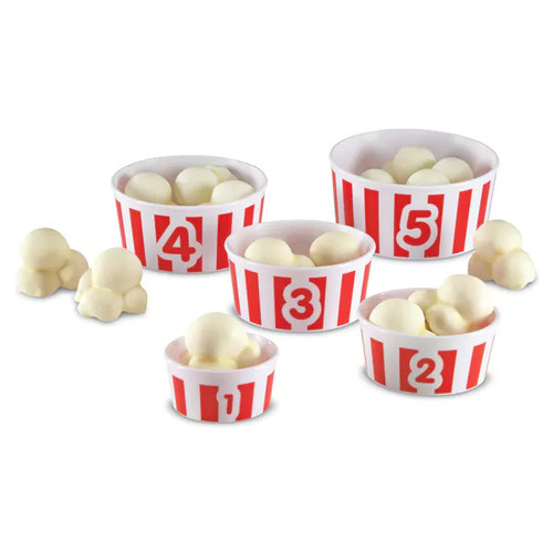 Learning Resources Smart Snacks Count 'em Up Popcorn Playset - Smart Snacks Count 'em Up Popcorn