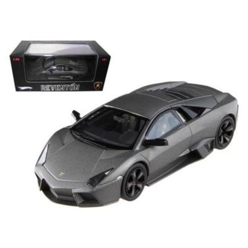 Hot Wheels Lamborghini Reventon Flat Black Elite Limited Edition 1-43 Diecast Model Car (Dtdp2452)