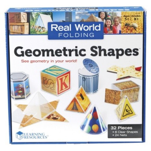 Learning Resources Real World Folding Geometric Shapes