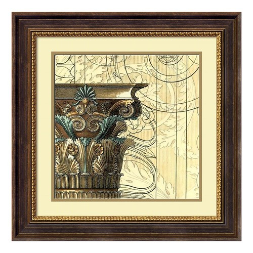 ''Architectural Inspiration II'' Framed Wall Art