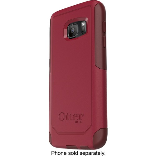 OtterBox - Commuter Series Case for Samsung Galaxy S7 Cell Phones - Red