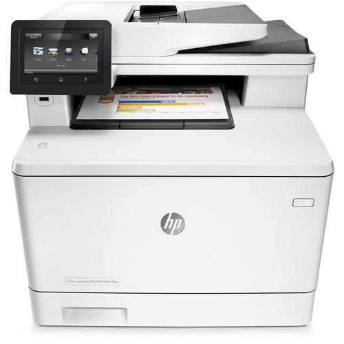 Color LaserJet Pro M477fdw All-in-One Laser Printer