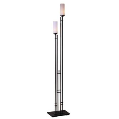 Metra Tall Double Floor Lamp [Finish : Bronze]