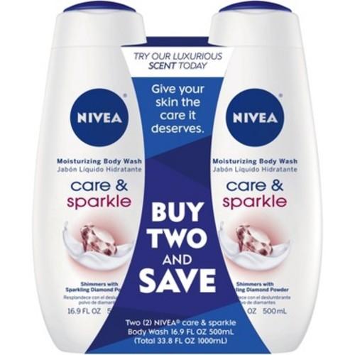 Nivea Care & Illuminate Body Wash - 33.8oz