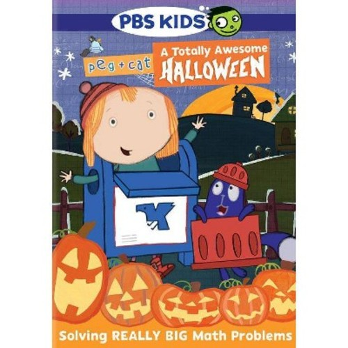 Peg & cat:Totally awesome halloween (DVD)