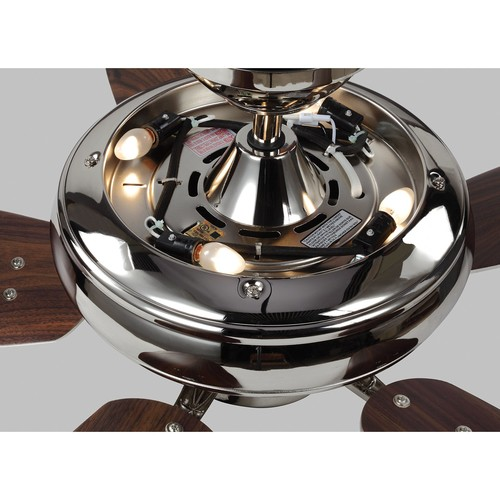 Monte Carlo Centro Max Uplight 52 in. Indoor Brushed Steel Ceiling Fan