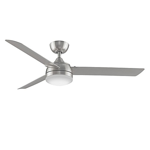 Fanimation Xeno 56-Inch Single-Light Ceiling Fan in Brushed Nickel with Remote Control