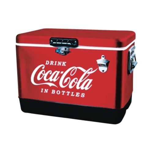 Koolatron Coca-Cola Ice Chest Cooler 54 qt. Red 1 pk(CCIC-54)