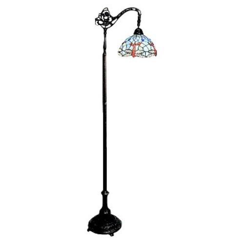 Tiffany Style Dragonfly Reading Lamp