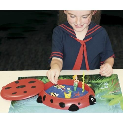 Sandbox Critters - Ladybug Play Set [Red, None]