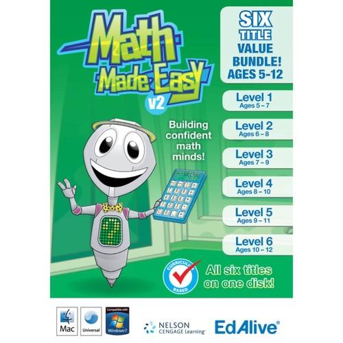 Math Made Easy v2 Bundle (Mac), Download Version