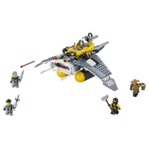 LEGO The Ninjago Movie Manta Ray Bomber (70609)